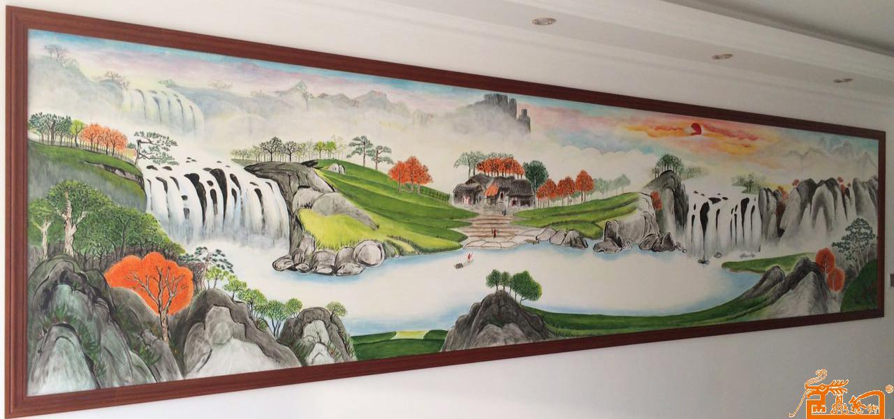 刘庆云-聚宝盆-淘宝-名人字画-中国书画服务中心